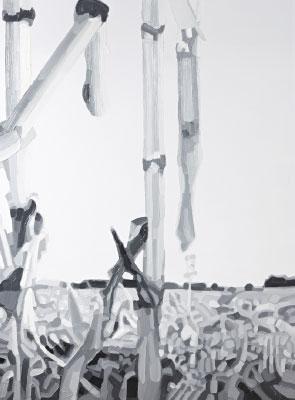 Friederike Hinz Malerei MON-810-Installation Bild 10
